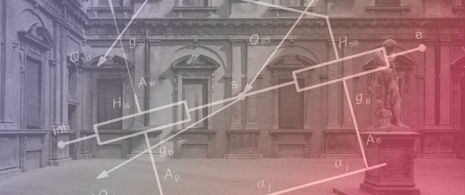A Simplified Algorithm to Predict Indoor Microclimate in Case of Courtyard Covering. A Case Study for the Courtyard of Palazzo Poggi in Bologna