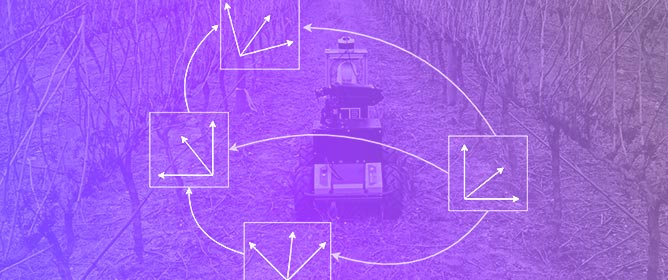 Localization and Mapping for Robots in Agriculture and Forestry: A Survey