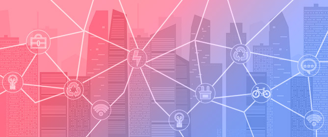 Visual and Artistic Effects of an IoT System in Smart Cities: Research Flow