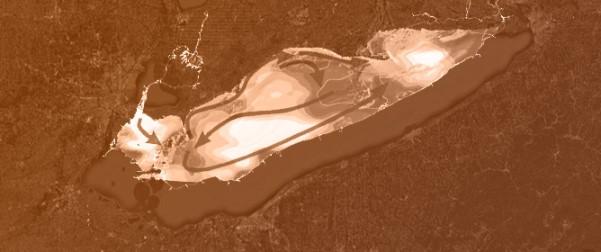 Geovisualization of Lead Sediment Contamination in Lake Erie