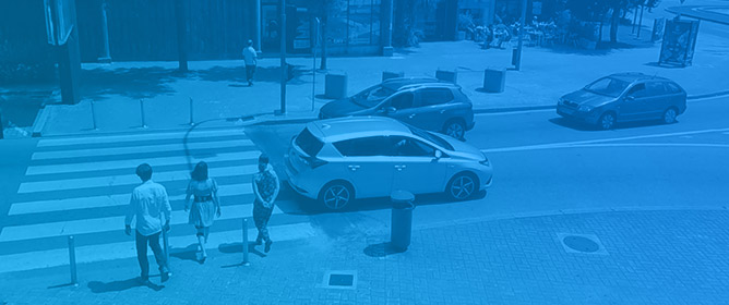 Effect of Built Environment Factors on Pedestrian Safety in Portuguese Urban Areas