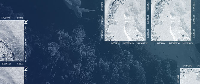 Mapping Sub-Metre 3D Land-Sea Coral Reefscapes Using Superspectral WorldView-3 Satellite Stereoimagery