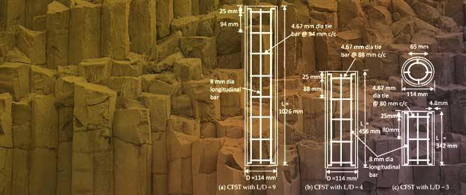 Axial Load Behavior of Ultrahigh Strength Concrete-Filled Steel Tube Columns of Various Geometric and Reinforcement Configurations