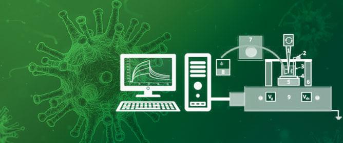 Detection of Influenza Virus Using a SOI-Nanoribbon Chip, Based on an N-Type Field-Effect Transistor
