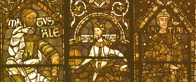 Dating Nathan: The Oldest Stained Glass Window in England?